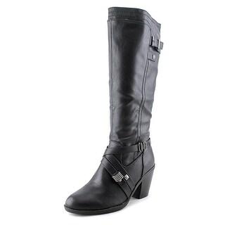 Rialto Madyson Women Round Toe Synthetic Black Knee High Boot