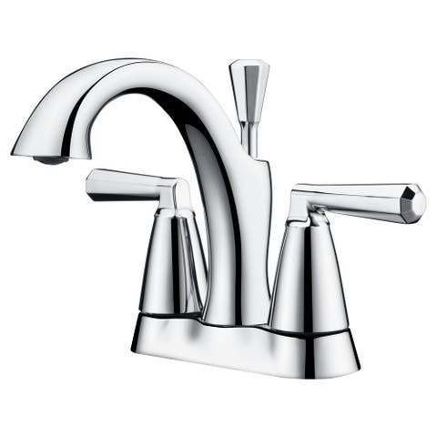 """Ultra Faucets Z Collection Two-Handle 4"""" Centerset Lavatory Faucet"""