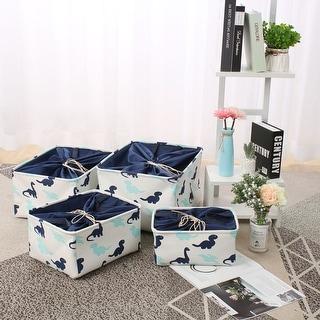 Foldable Fabric Storage Basket Bin Toy