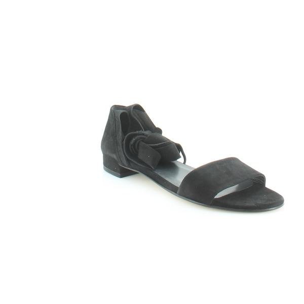 Stuart Weitzman Corbata Women's Sandals & Flip Flops Black