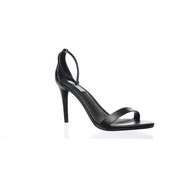5043caca7d6 Shop Steve Madden Womens Stecy Black Ankle Strap Heels Size 10 (C