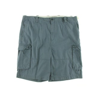 Nautica Jeans Co. Mens Big & Tall Cotton Flat Front Cargo Shorts - 44b