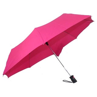 Raines by Totes Automatic Pink Umbrella with Medium Coverage