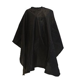 LCL Beauty Large Deluxe Ultra-Soft Nylon Blend Chemical-Proof & Water-Proof Cutting Cape