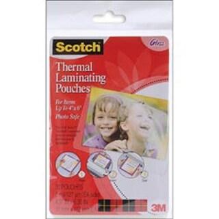 "4""X6"" - Scotch Thermal Laminator Pouches 20/Pkg"