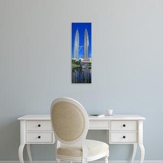 Easy Art Prints Panoramic Images's 'Petronas Towers Kuala Lumpur Malaysia' Premium Canvas Art