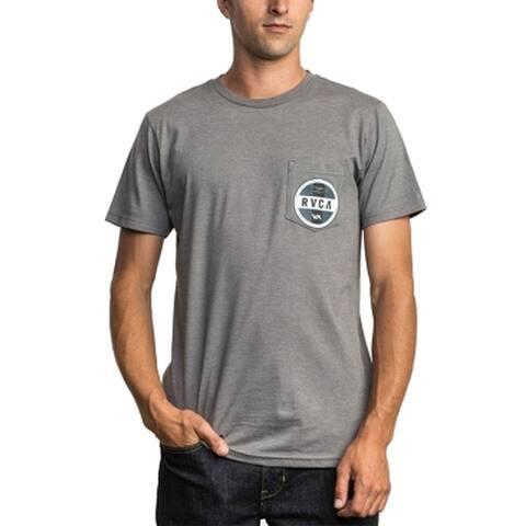 RVCA Mens T-Shirt Large Front Pocket Crewneck Graphic Tee $26