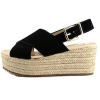 Nine West Womens beachy gd Open Toe Casual Platform Sandals