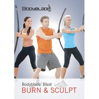 Bodyblade Blast Burn and Sculpt DVD