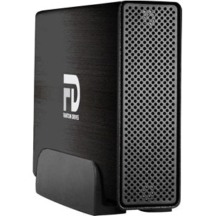 """Fantom Drives GF3B1000EU Fantom Drives 1TB Gforce3 USB 3.0 / eSATA Aluminum External Hard Drive - eSATA, USB 3.0 - Brushed"
