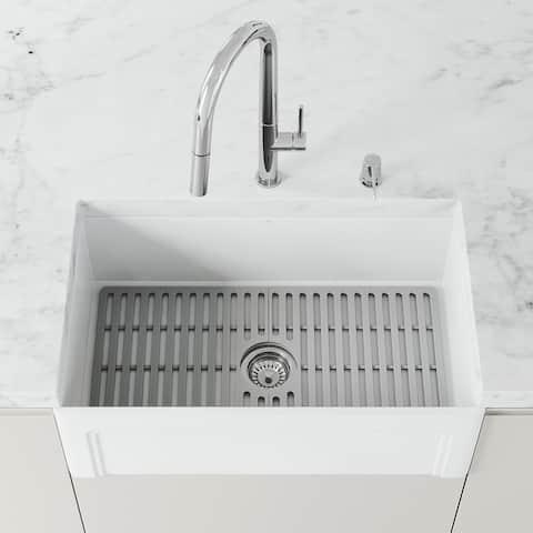 VIGO Silicone Bottom Grid for Kitchen Sink
