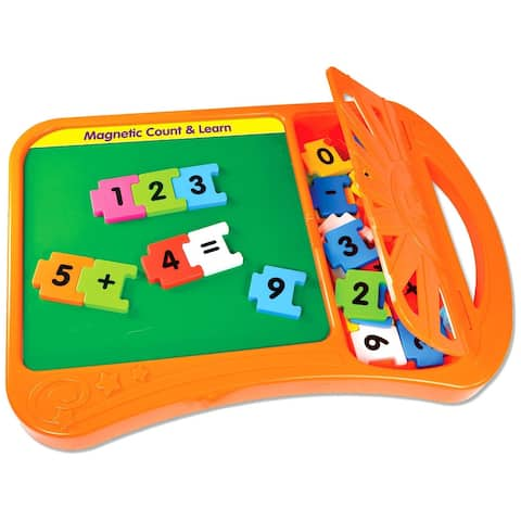 Magnetic Count and Learn Board - multi