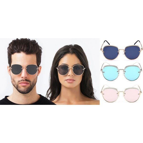 260b191d4d PRIVE REVAUX The Escobar Handcrafted Designer Aviator Sunglasses For Men   amp  ...
