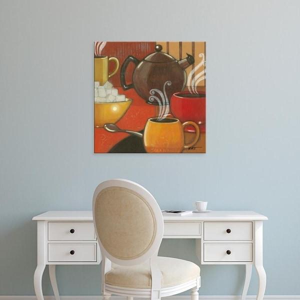 Easy Art Prints Norman Wyatt's 'Another Cup I' Premium Canvas Art