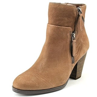 Vince Camuto Hinnegan Women  Round Toe Leather Brown Bootie