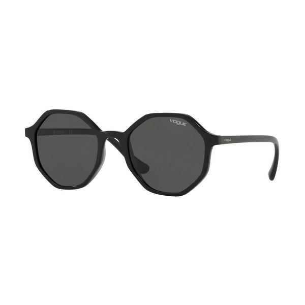 Vogue VO5222S W44/87 52 Black Woman Irregular Sunglasses. Opens flyout.
