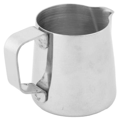 Home Cafe Metal Milk Juice Coffee Pouring Kettle Pot Container 250ml