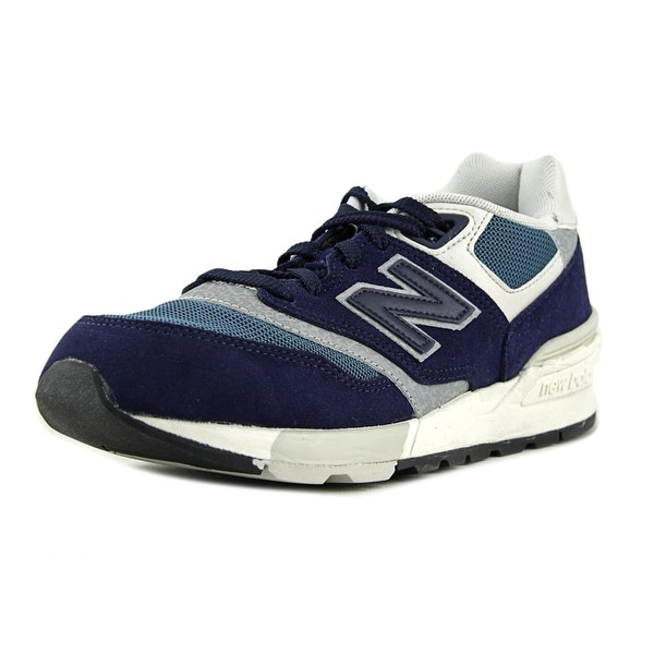 New Balance ML597 Men  Round Toe Suede  Sneakers