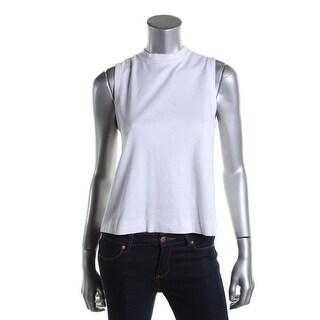 Rag & Bone/JEAN Womens Cotton Solid Tank Top - L