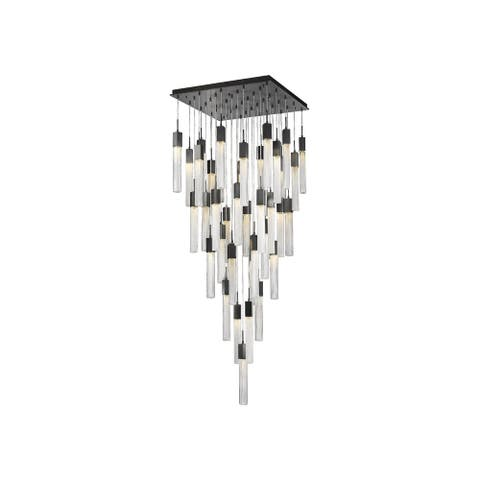 Avenue Lighting HF190341BOADBZ 41 Light Pendant Boa Dark Bronze - One Size