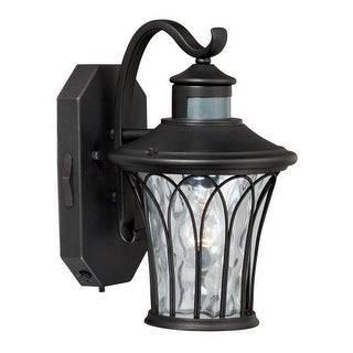 "Vaxcel Lighting T0123 Abigail 1 Light 8"" Wide Outdoor Wall Sconce with Motion Sensor Included"
