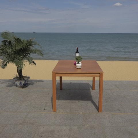 """Safavieh Outdoor Living Dores Dining Table - 59.1""""x35.4""""x29.5"""""""