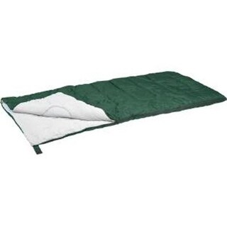 "Stansport Redwood Rectangular Sleeping Bag, Dark Green, 30"" X 75"""