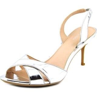 Calvin Klein Lucette Open Toe Synthetic Sandals