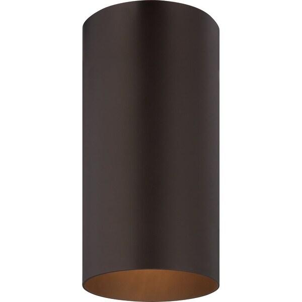 Volume Lighting V9616 1 Light 6 Wide Outdoor Flush Mount Ceiling Fixture N A