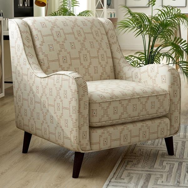 Furniture of America Gandree Transitional Keystone Pattern Armchair. Opens flyout.