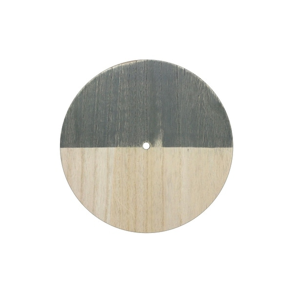 Darice Clock Face Wood Unfnshd/Distress Round