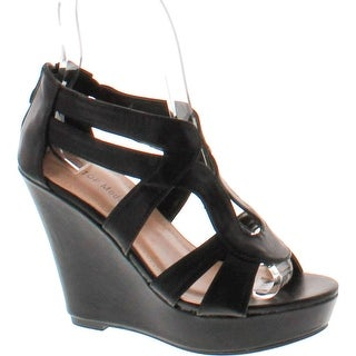 Top Moda Womens Lindy-88 Platform Sandals