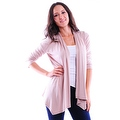 Simply Ravishing Women's Basic 3/4 Sleeve Open Cardigan (Size: Small-5X) - Thumbnail 15