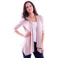 Simply Ravishing Women's Basic 3/4 Sleeve Open Cardigan (Size: Small-5X) - Thumbnail 15