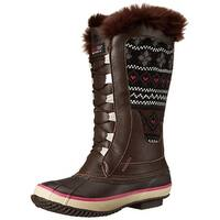 Western Chief Women's Speed Lace Knit Snow Boot