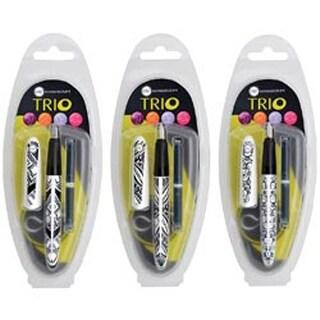 Assorted Designs - Manuscript Trio Italic Pen