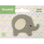 Elephant - Wrights Baby Sew-On Applique