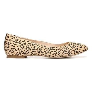 Dr. Scholl's Womens Vixen Leather Closed Toe Slide Flats