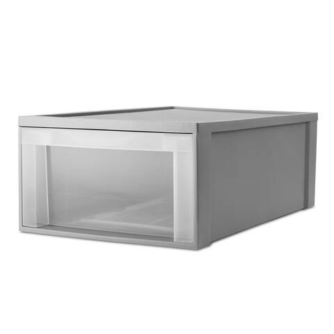 """Starplast Under Bed Storage Drawer, 29"""" x 17.5"""", Gray - N/A"""