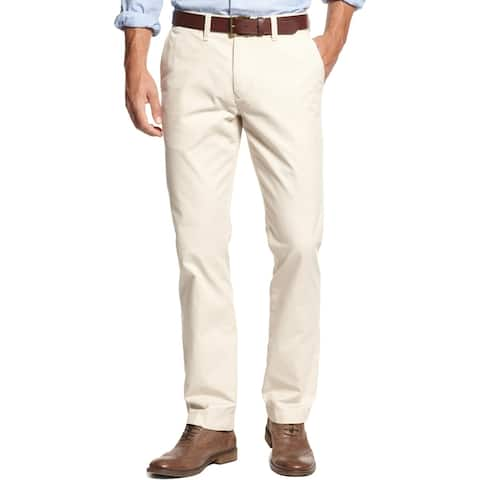 Tommy Hilfiger Mens Big & Tall Chino Pants Classic Fit Flat Front