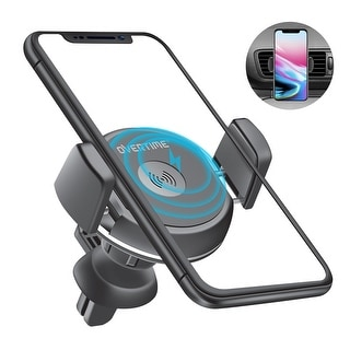 Link to Overtime Qi Fast Charging Wireless Car Charger, Air Vent Mount Phone Holder Similar Items in Batteries & Chargers