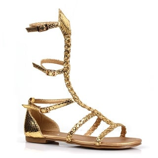 Girls Miriam Gladiator Flat Sandal Costume Shoes