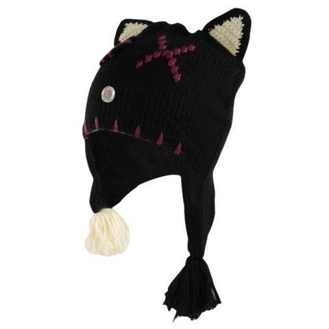 American Rag Women's Wool Blend Winter Cat Beanie Hat - One Size