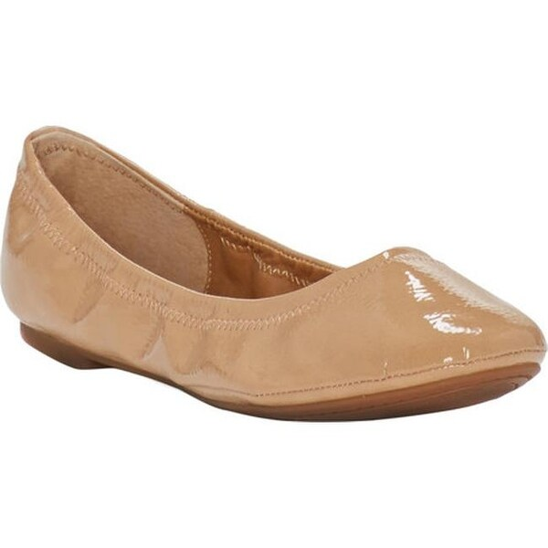 327020c360b5 Shop Lucky Brand Women s Emmie Flat Nude Synthetic Patent - Free ...
