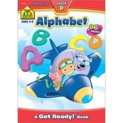 Preschool Alphabet - Ages 4-6 - Super Deluxe Workbook