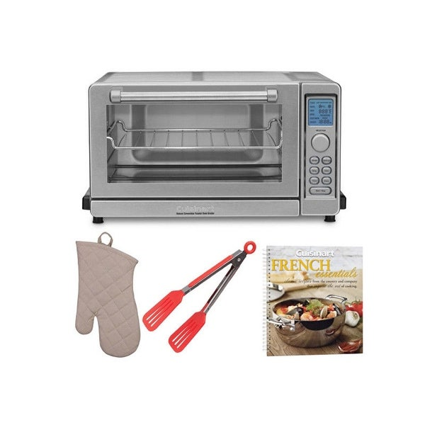 Cuisinart TOB-135 Convection Toaster Oven Broiler w/ Cookbook & Accessory Bundle. Opens flyout.