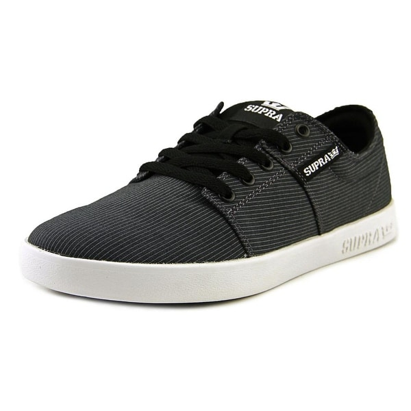 Supra Stacks II Men Round Toe Canvas Sneakers