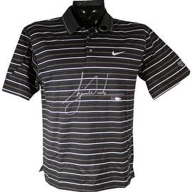 Tiger Woods Signed Tournament Used Shirt () (BAK31118 UDA Holo Only)