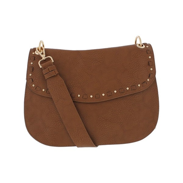 13858d76c0 Shop Steve Madden Womens Sanders Hobo Handbag Pebbled Faux Leather ...