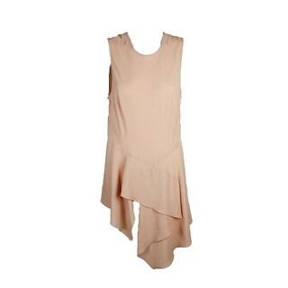 Rachel Rachel Roy Pink Opal Draped Asymmetrical Tunic 14